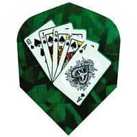 "5 Sets /""Playing Cards/"" Metronic Dart Flights 5x3"