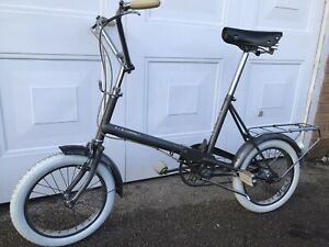 Vintage 1968 Raleigh RSW 16 Compact folding bicycle