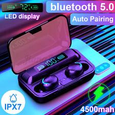 4500mAh Wireless bluetooth 5.0 Earphone TWS HD Headset In-ear Earbuds Headphone