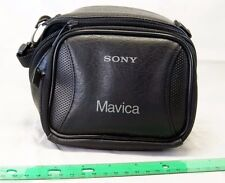 "Sony Mavica camera case 5.5X4X3.5"" Cybershot Genuine for DSC NEX ILCE C3 5N 5R"