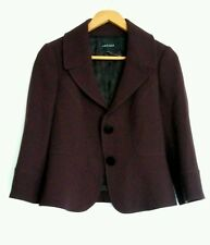 JAEGER wool jacket blazer size 10 --BRAND NEW-- 100% wool plum