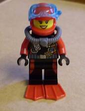 Lego Deep Sea Explorers - Deep Sea Diver Female (Taucherin, Ozean, Figur) Neu