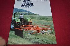Deutz Fahr Rakes Dealer's Brochure DCPA4