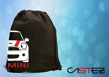 coche basado mini rally racing cooper S one mochila saco gimnasio bolso bolsa