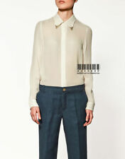 Chiffon Career Long Sleeve Unbranded Tops & Blouses for Women