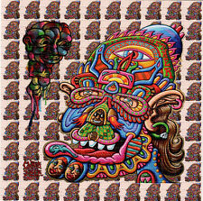 Chris Dyer FEEDBACK FROM BEYOND BLOTTER ART Psychedelic Perforated Acid Free Art