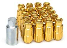 20x Gold D1 Alu-Radmuttern (M12x1.5) + Tool Fits KIA Marktaussichten