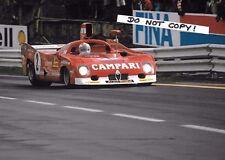 7x5 Photograph  Derek Bell  Alfa Romeo T33TT 12  Spa 1000 kms 1975