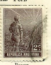 ARGENTINA;  1911 early definitive issue fine used value 2c.