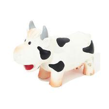 Rosewood Grunters Latex Cow Dog Toy | Grunting Sound Jolly Doggy Farm Animal