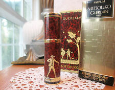 Vintage GUERLAIN MITSOUKO Pure Perfume 1/4oz- 7.5ml Refillable Spray In Box RARE