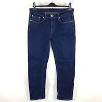 Levi's Jeans 514 Herren W32 (wie W33) L32 Blau Slim Straight Indigo Dark Stretch
