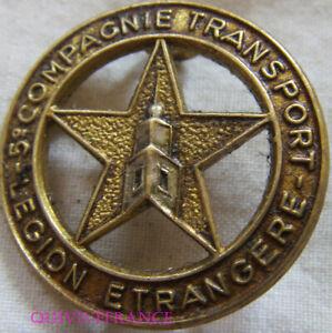 IN14423 - INSIGNE 2° R.E.I, 5° Cie de Transport Gros Porteurs, retirage