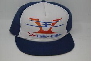 Vintage Utah Equipment & Engineering Truckers Hat