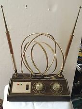 1960's Rembrandt TV Antenna / Rabbit Ears; Space Age Look! Tested-Works Great!