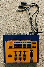 Boss Vt-1 Voice Transformer With Telephone/Headset Modification