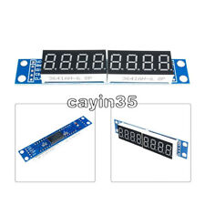 1PCS MAX7219 LED Dot matrix 8Digit Digital Display 0.56 Tube Anode Module