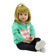 "Lifelike Handmade Reborn Baby Doll Soft Viny Girl Infant Toy Jessica Newborn 22"""