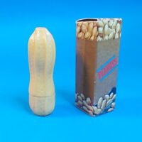 Vtg 1970s Avon IN A NUTSHELL Color Magic .13 oz Peanut Shaped Lipstick w Box NOS