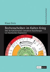 ABC-Rechenscheibe-Buch Rechenschieber Strahlenschutz Atomstrahlung DDR BRD UdSSR