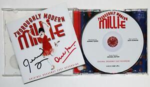Jeanine Tesori & Dick Scanlan Signed THOROUGHLY MODERN MILLIE Cast Recording CD