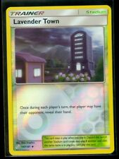 Pokemon LAVENDER TOWN 147/181 - Team Up - Rev Holo - MINT