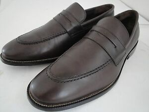 NEW COLE HAAN AIR WILLIAMS Mens US Shoe 9 M BROWN LEATHER DRESS PENNY LOAFER