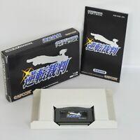 GYAKUTEN SAIBAN 1 Ace Attorney Gameboy Advance Nintendo bcb gba