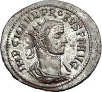 PROBUS Original 276AD Authentic Ancient Roman Coin of Tripolis JUPITER i65168