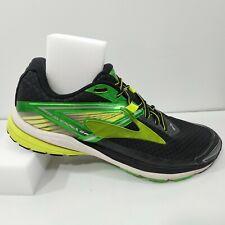 Brooks Dna Ravenna 8 Mens Running Shoes Sz US 10 EU 44 Black & Green