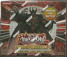 Yu-Gi-Oh! Hidden Arsenal 5 Steelwarm Invasion Sealed 1st Edition Booster Box