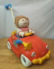 VINTAGE 1987 CABBAGE PATCH KIDS FUN CAR STROLLER 1985 DOLL- Up & Down Action
