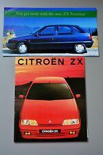 Brochure Citroen ZX 1991 Inc. Price List, Petrol & Diesel