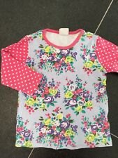 Mini Boden Top Age 7-8 Floral Hotchpotch T Shirt