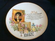 VTG Avon 20th Anniversary Decorative Collectors porcelain Plate Collectable