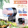 Automatic Fish Food Feeder Auto Timer Pet Aquarium Tank Feeding Pond+50&100g Box