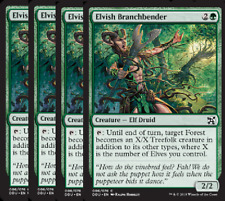 Elvish Branchbender NM X4 Duel Decks: Elves Vs Inventors Green