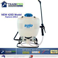 Garden Sprayer Solo PRO 15Ltr Backpack Adjustable Piston Pump & Lance 425D15L