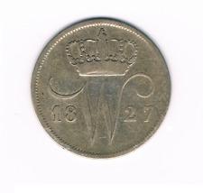 10 cent 1827  Brussel    Willem I Nederland / Belgie  Zilver / Ag