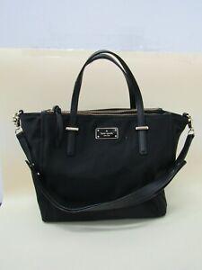 Kate Spade Wilson Road Adalyn Women's Black Nylon Tote Shoulder Bag