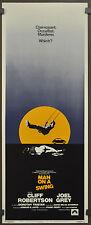 Mann Auf Ein Swing 1974 Original Film Poster 14X36 Cliff Robertson Joel Grau