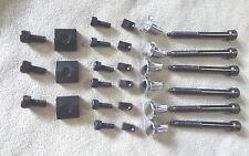 FLOYD ROSE 30 Piece Restoration Lock Nut Block Clamp & Screw Set w/ inserts Blk