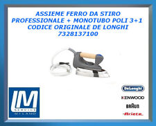 ASSIEME FERRO DA STIRO PROFESSIONALE CON MONOTUBO POLI 3+1 7328137100 DE LONGHI