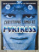 Affiche FORTRESS Stuart Gordon CHRISTOPHE LAMBERT 40x60cm *