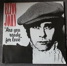 Elton John, are you ready for love part 1 & 2, SP - 45 tours France