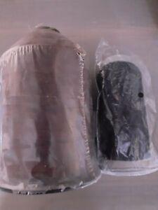 2 large nylon sewing thread spools