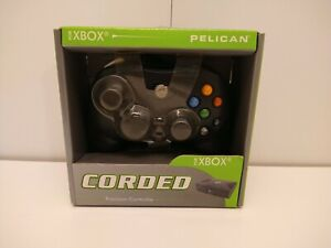 Xbox Original PL-2057 Black Wired Blade C-Type Game Controller Brand New in Box!