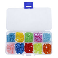 120pcs/set 10Colors Knitting Accessories Crochet Locking Stitch Markers Tool HF