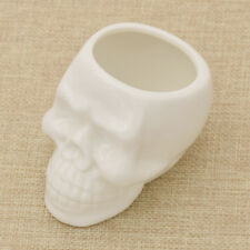 Gothic Skull Head Design Flower Pot Planter Container Home Bar Decoration