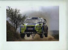 Marcus Gronholm Ford Focus RS WRC 06 Argentine Rally 2006 Signed Photograph